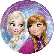 8 Piattini Frozen Magic Party