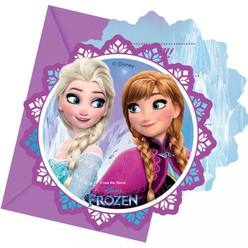 6 Inviti Frozen Festa magica