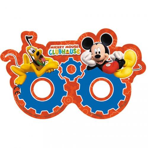 6 Maschere occhiali Mickey e Pluto