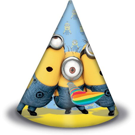 6 Cappelli Lovely Minions