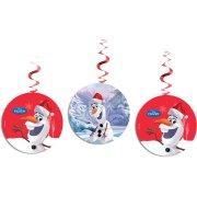 3 Festoni a spirale Olaf Christmas