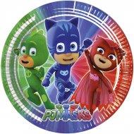 8 Piattini PJ Masks - Super pigiamini