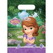 6 Sacchetti regalo Principessa Sofia e l'unicorno