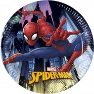 8 Piattini Spiderman Team