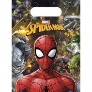 6 Sacchetti regalo Team Spiderman