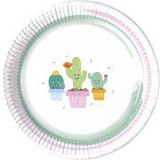 8 Piatti Cactus Kawaïï