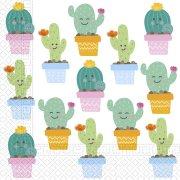 20 Tovaglioli Cactus Kawaïï