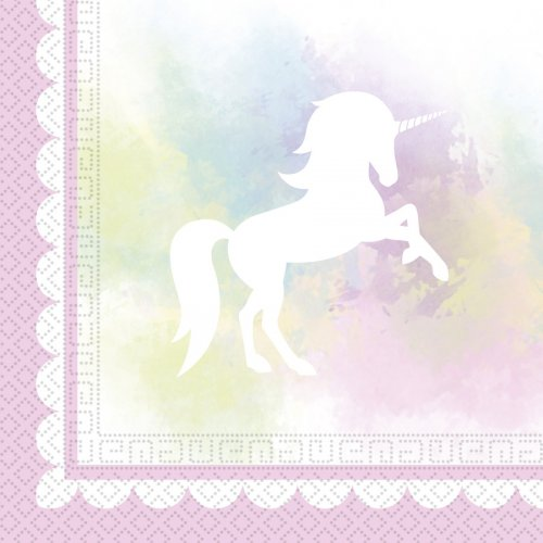20 Tovaglioli Unicorno Dream