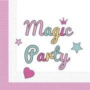 20 Tovaglioli Unicorno Magic Party