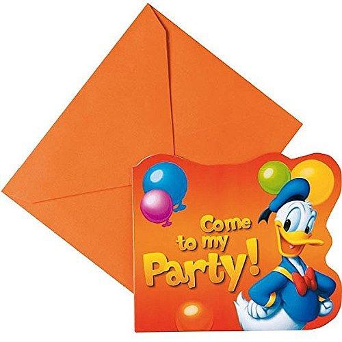 6 Inviti Donald Party