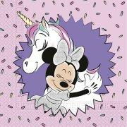 20 Tovaglioli Minnie Unicorno