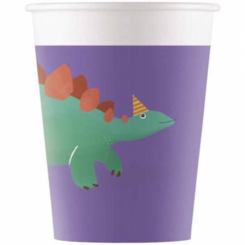 8 Bicchieri Dino - Compostabile