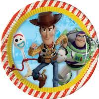 Contiene : 1 x 8 Piatti Toy Story 4