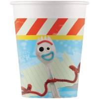 Contiene : 1 x 8 Bicchieri Toy Story 4