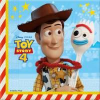 Contiene : 1 x 20 Tovaglioli Toy Story 4