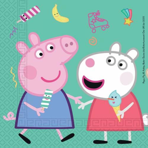 20 Tovaglioli Peppa Pig Fun