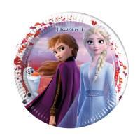 Contiene : 1 x 8 Piatti - Frozen 2