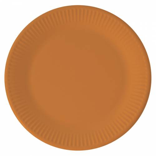 8 Piatti Arancione - Compostabile