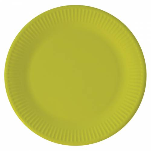 8 Piatti Verde anice - Compostabile