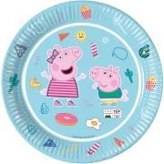 8 Piatti Peppa Pig - Compostabile