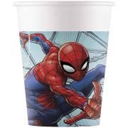 8 Bicchieri Spiderman Team