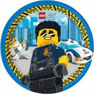 8 Piatti Lego City