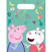 6 Sacchetti regalo Peppa Pig Fun