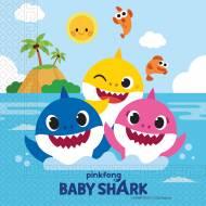20 Tovaglioli Baby Shark