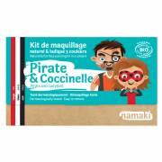 Kit Trucco 3 Colori Pirata e Coccinella BIO