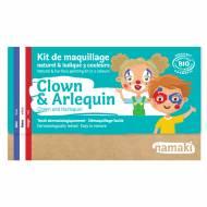 Kit Trucco 3 Colori Clown e Arlecchino BIO