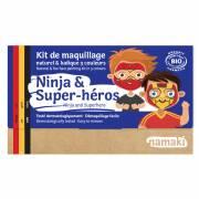 Kit Trucco 3 Colori Ninja e Supereroi BIO