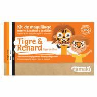 Kit Trucco 3 Colori Tigre e Volpe BIO