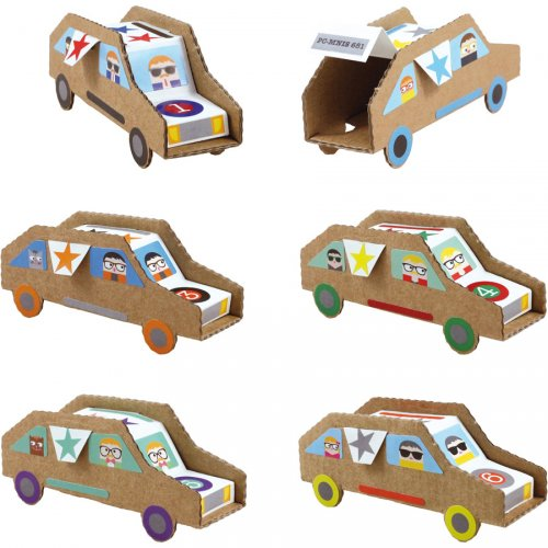 Kit creativo - Le mie automobili