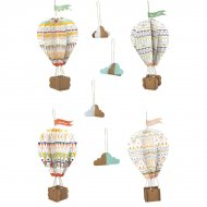 Kit creativo - Le mie mongolfiere