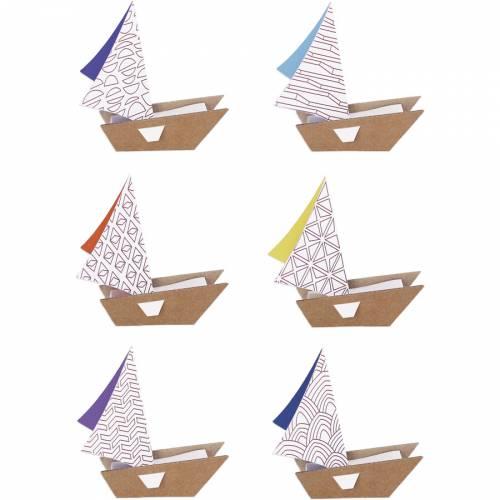 Kit creativo - Le mie barche a vela