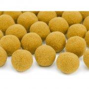 20 Mini palline pompon (2 cm) - Arancione