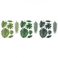 Set centrotavola foglie