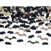 Contiene : 1 x Coriandoli pipistrelli nero/oro (15 g)