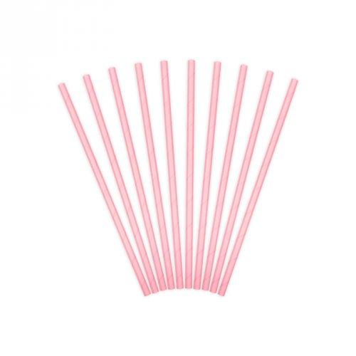 10 cannucce Baby rosa - Cartone