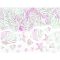 Contiene : 1 x Coriandoli Conchiglia - Oceano Iridescente
