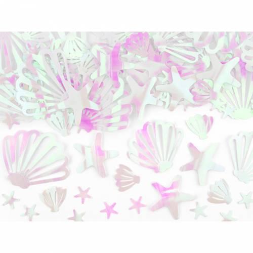 Coriandoli Conchiglia - Oceano Iridescente