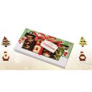 Scatola 8 Cioccolatini di Natale 2D - 95 g