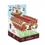 1 Lecca lecca Cavaliere - Principessa di Cioccolato