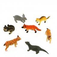 1 Animale selvatico Canada Figura (6 cm) - Plastica