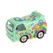 1 autobus Hippie a frizione posteriore (9 cm)