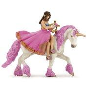 Figura di principessa a La Lyre sul suo unicorno