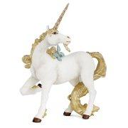 Figura di unicorno d'oro