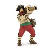 Figura di pirata con cannone