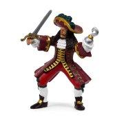 Pirata figura del capitano pirata