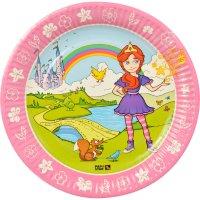 Contiene : 1 x 10 Piatti Principessa Magic Xperience